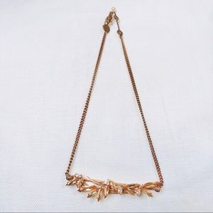 HENRI BENDEL ROSE GOLD NECKLACE